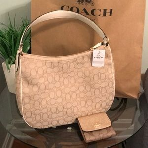 Coach shoulder bag with wallet NWT Authentic